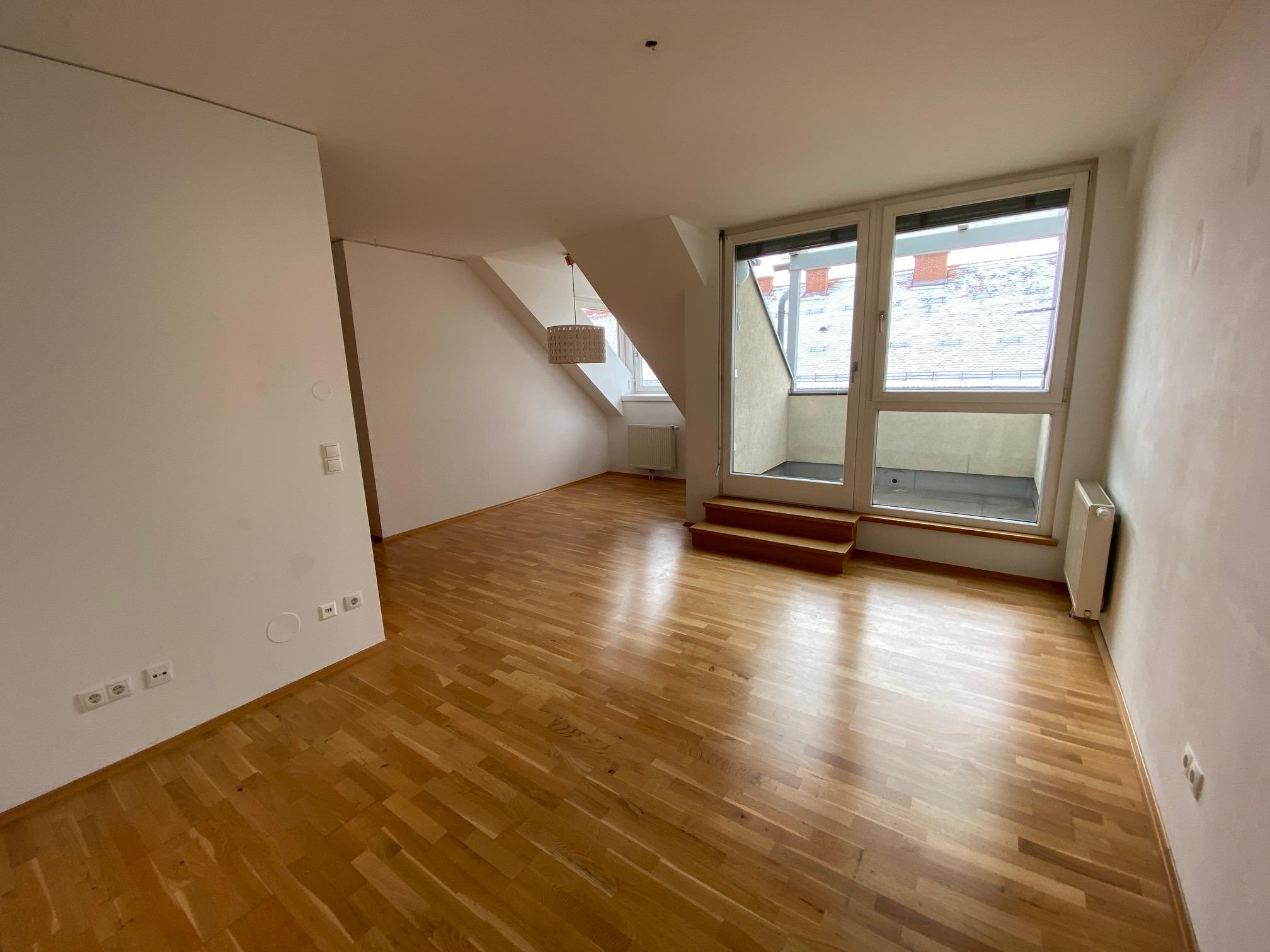 Graz - Annenstraße - 3-Zimmerwohnung im DG mit Terrasse