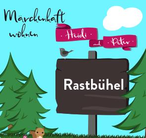 MÄRCHENHAFT WOHNEN am Rastbühel: HEIDI - Wfl. 116 m² + 254 m² Garten