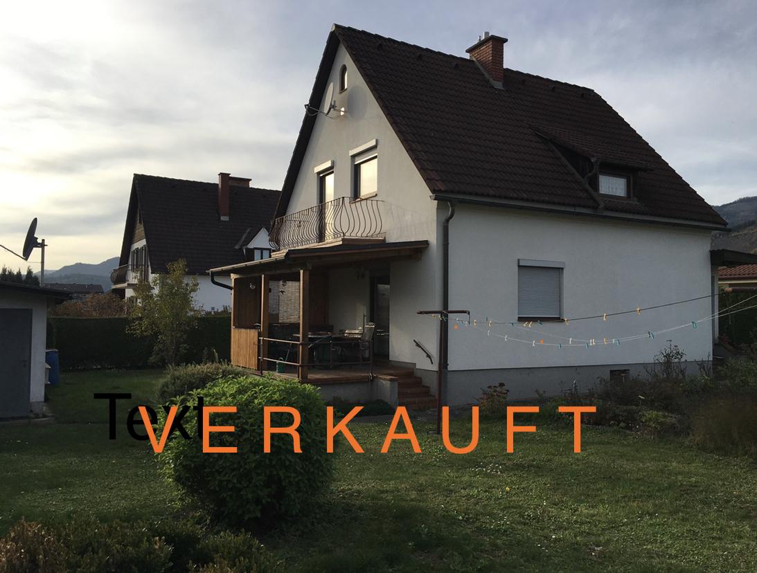 St. Lorenzen/Mzt. Einfamilienhaus in absoluter Ruhelage mit viel Potential