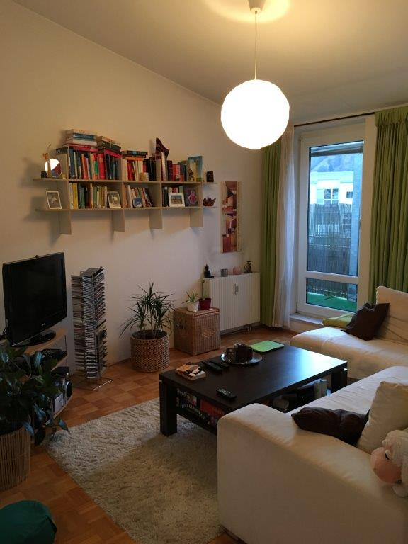 Wetzelsdorf. Gemütliche 2 Zimmerwohnung mit Terrassse
