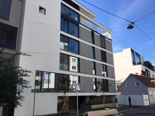 Erstbezug  Geidorf. 2 Zimmerwohnung
