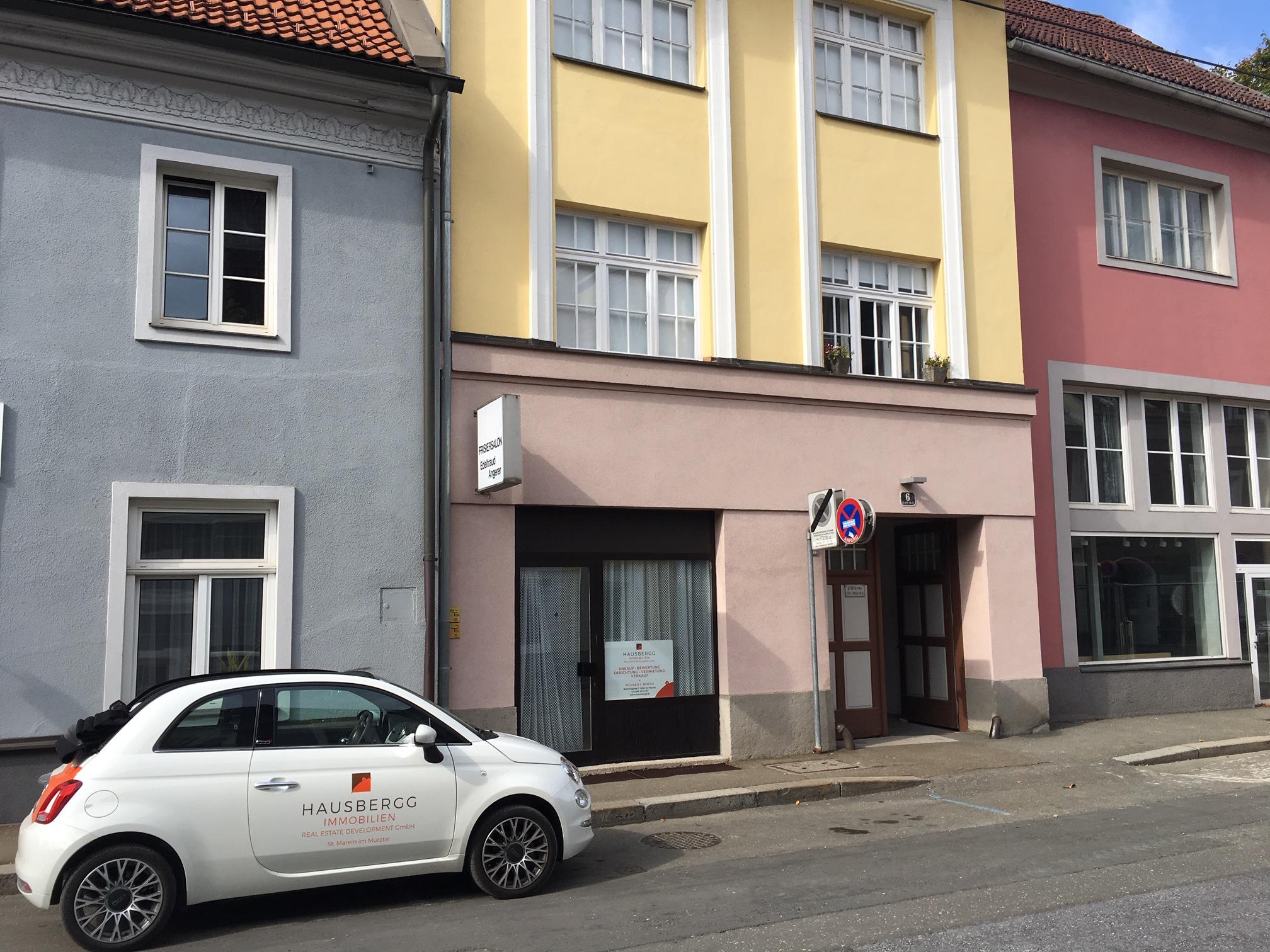 Bruck-Zentrum. Schiffgasse Geschäftslokal/Büro/Therapieraum mit Potential