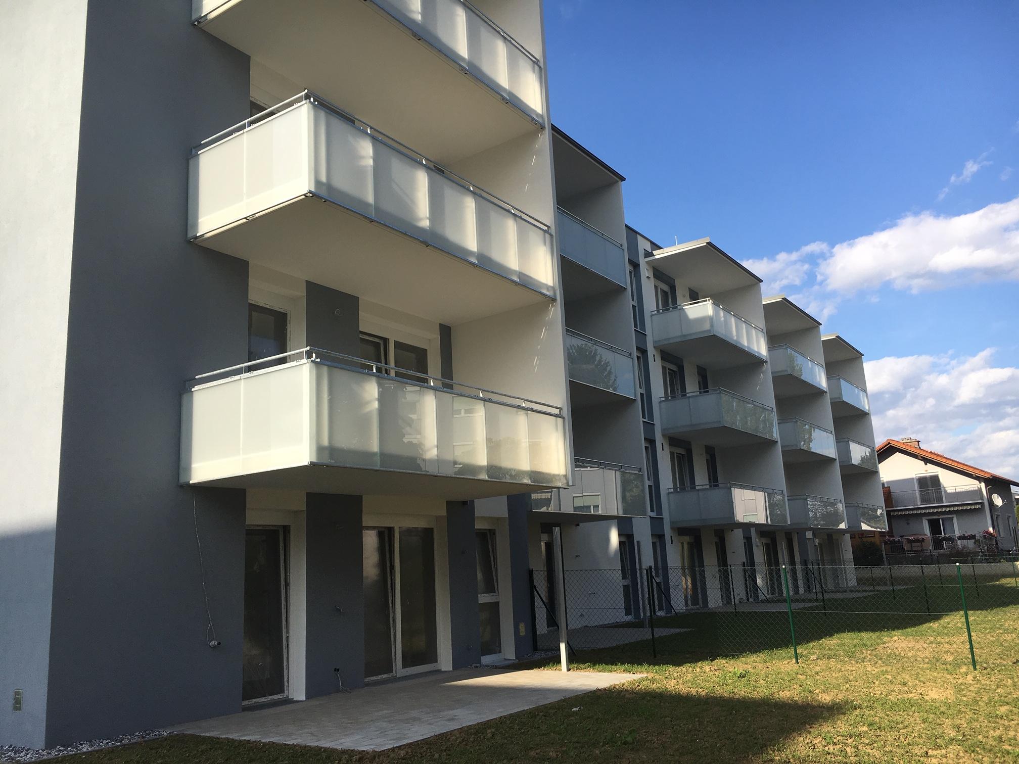 Graz-Liebenau. ERSTBEZUG. Ruhige Mietwohnung mit Balkon
