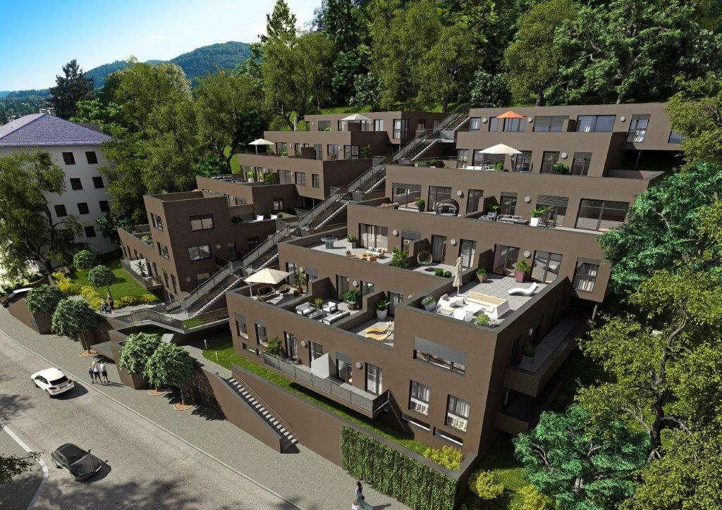 HILL RESORTS am SCHLOSSPARK  -  Exklusives Neubauprojekt in Eggenberg -